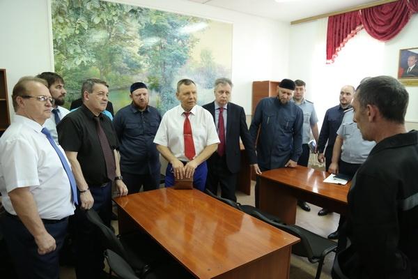 Петр Карпенко посетил с рабочим визитом УФСИН России по Чеченской Республике