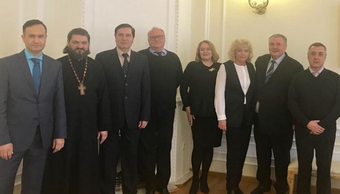 Петр Карпенко выступил с докладом на межрегиональной конференции в Санкт-Петербурге