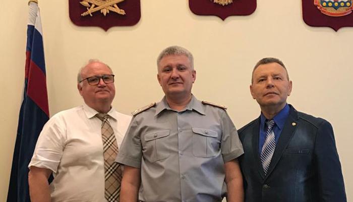 Петр Карпенко принял участие в работе коллегии УФСИН России в Калининграде