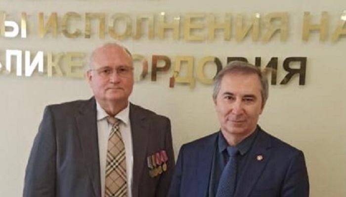 Петр Карпенко на праздновании 90 лет УФСИН России по Республике Мордовия