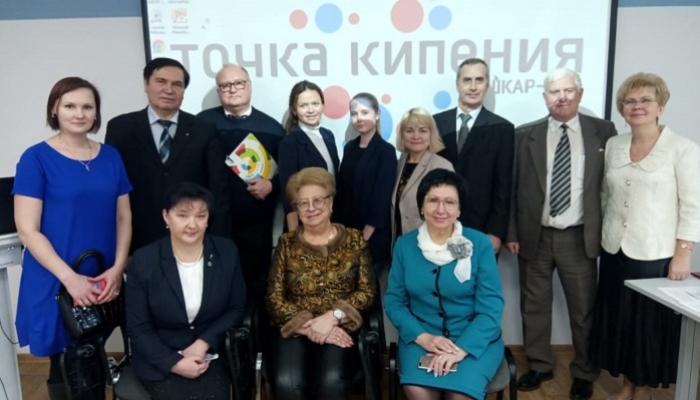 Петр Карпенко выступил с докладом на конференции в Йошкар-Оле