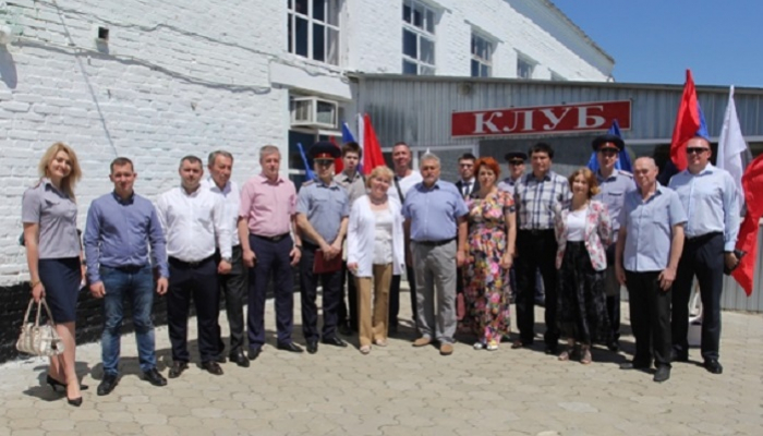 Петр Карпенко посетил УФСИН России по Краснодарскому краю